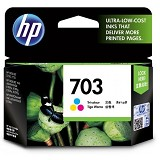 HP Tri-Color Ink Cartridge 703 [CD888AA]